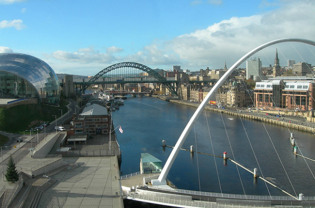 View of Tyne Bridge & Millenium Bridge (dan pope/CC BY-NC-SA 2.0)