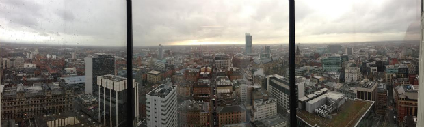 View of Manchester skyline