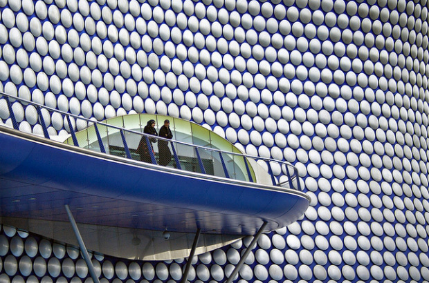 View of the Bull Ring, Birmingham (vasilennka/CC BY 2.0)
