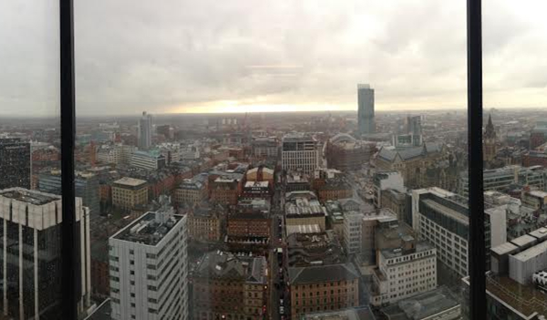 View of the Manchester skyline