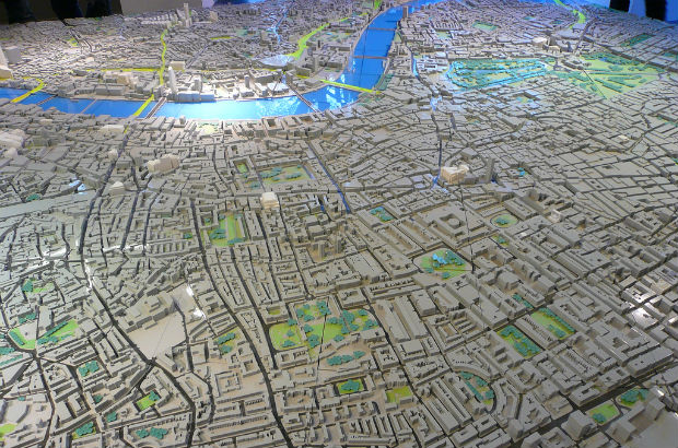 Model of London (Credit: rvacapinta / CC-BY-2.0)