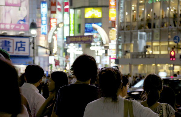 Crowd on the Shibuya Crossing, Tokyo (credit: Yoshikazu TAKADA/CC BY 2.0)
