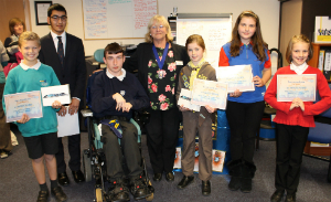 The winners of the Future Lancaster competition.