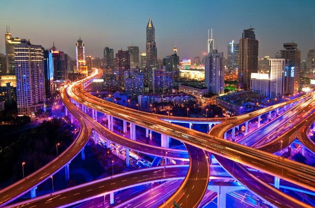 View of Shanghai at night (credit: Dhi/CC BY 2.0)