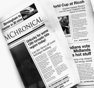 Newspapers (credit: Sustainability West Midlands)