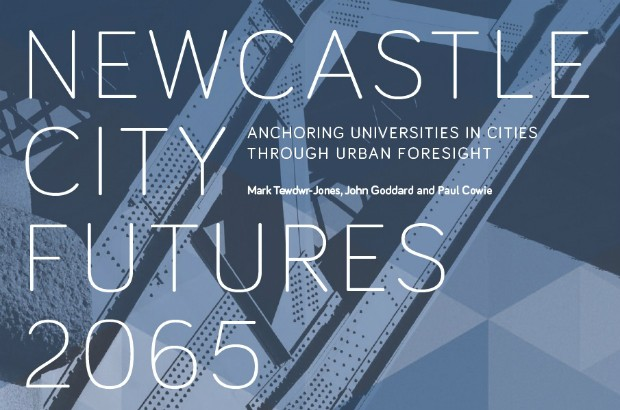 Cover of the Newcastle City Futures report.