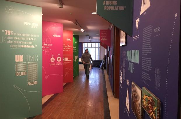The Future City exhibit at RIBA
