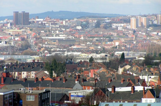 Hanley City From Glebe Hill in Fenton (credit: Mike Shields/CC BY-SA 2.0)